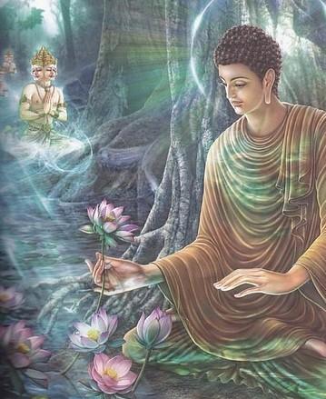 佛陀对弟子的态度图片